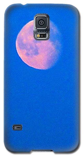 Galaxy S5 Case featuring the photograph Moon by Yury Bashkin