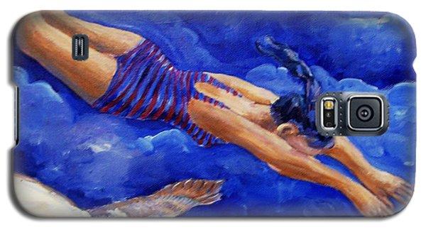 Moonbather  Galaxy S5 Case by Trudi Doyle