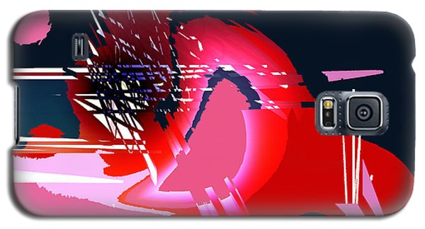Galaxy S5 Case featuring the digital art Moonbird by Andrew Penman