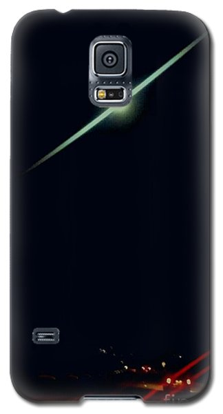 Moondate Galaxy S5 Case by Angela J Wright
