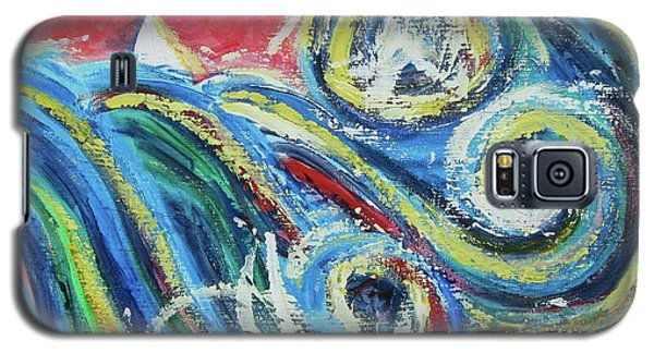 Moonlight And Chaos Galaxy S5 Case by Diane Pape