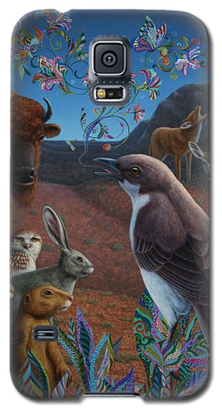 Moonlight Cantata Galaxy S5 Case by James W Johnson