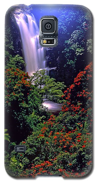 Moonlight Falls Galaxy S5 Case by Marie Hicks