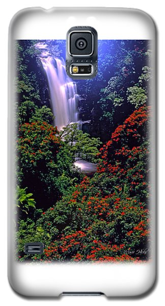Moonlight Falls Galaxy S5 Case