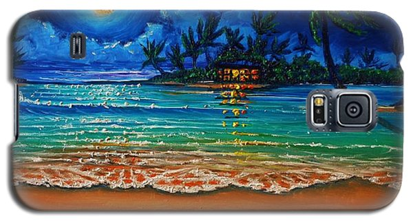 Moonlight Lagoon Galaxy S5 Case