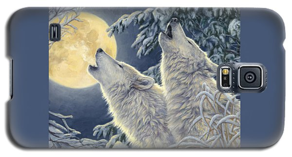 Animal Galaxy S5 Case - Moonlight by Lucie Bilodeau