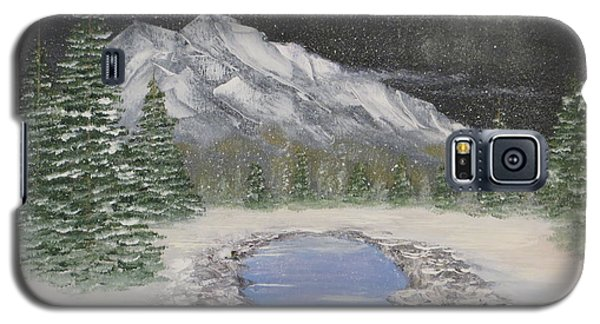 Moonlight Mountain Galaxy S5 Case by Tim Townsend