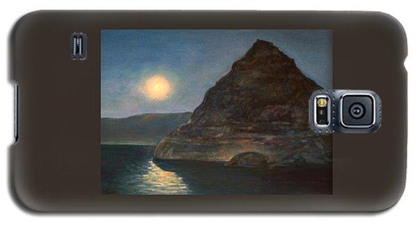 Moonlight On Pyramid Lake Galaxy S5 Case