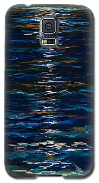 Moonlight Reflection Galaxy S5 Case by Linda Olsen