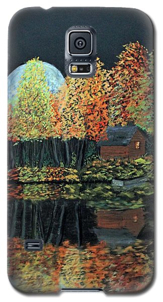 Moonlight Reflections Galaxy S5 Case by Jack G  Brauer