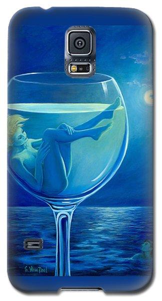 Moonlight Rendezvous Galaxy S5 Case by Sandi Whetzel