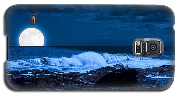 Moonlight Sail Galaxy S5 Case