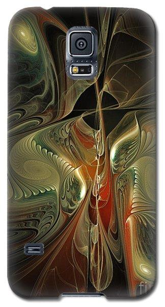 Moonlight Serenade Fractal Art Galaxy S5 Case