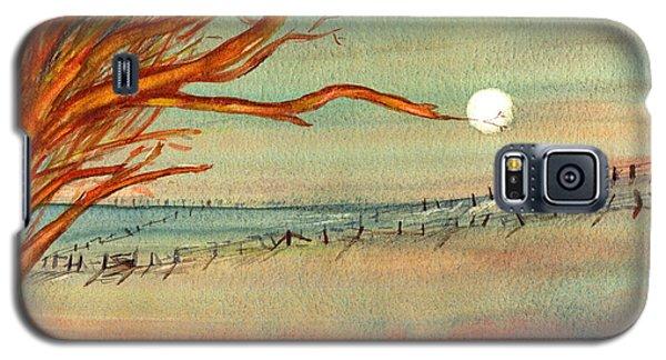 Moonlit Farmland Galaxy S5 Case