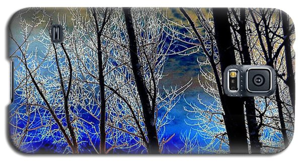 Moonlit Frosty Limbs Galaxy S5 Case