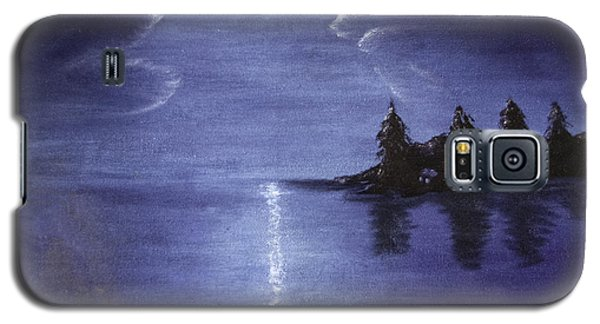 Moonlit Lake Galaxy S5 Case