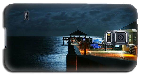 Moonlit Pier Galaxy S5 Case