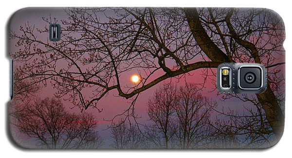 Moonrise Galaxy S5 Case by Kathryn Meyer