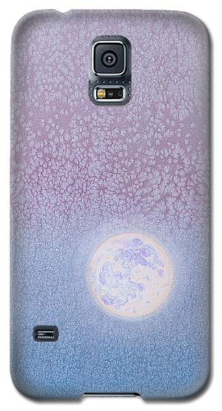 Galaxy S5 Case featuring the painting Moonrise by Margaret Bobb