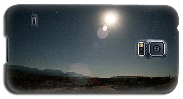 Moonrise Over Arches Galaxy S5 Case