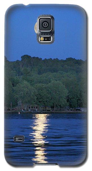 Reflections Of Luna Galaxy S5 Case by Richard Engelbrecht