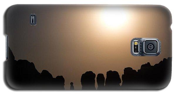 Moonrise Over Eden Galaxy S5 Case