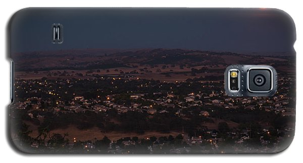 Moonrise Over Paso Galaxy S5 Case