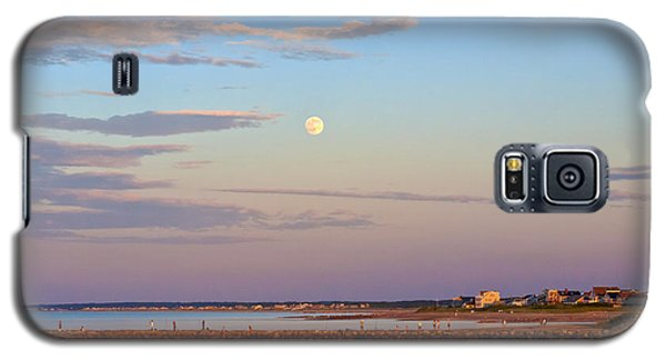 Moonrise Over Sandwich And Canal Galaxy S5 Case