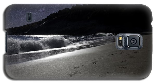 Moonshine Beach Galaxy S5 Case by Brent L Ander