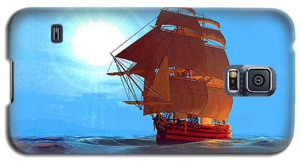 Moonship Galleon Filtered Galaxy S5 Case