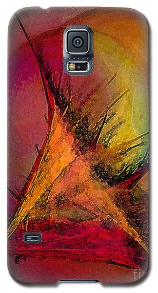 Moonstruck-abstract Art Galaxy S5 Case