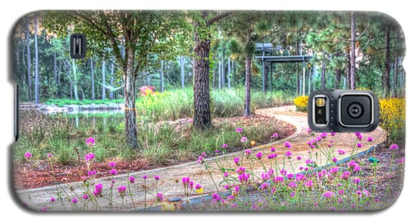 Galaxy S5 Case featuring the photograph Moore Garden Stroll by Patricia Schaefer