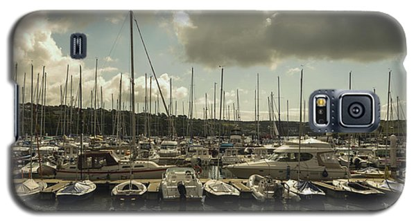 Moored Boats Galaxy S5 Case