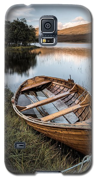 Moored On Loch Awe Galaxy S5 Case