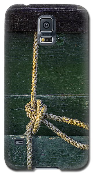 Galaxy S5 Case featuring the photograph Mooring Hitch by Marty Saccone