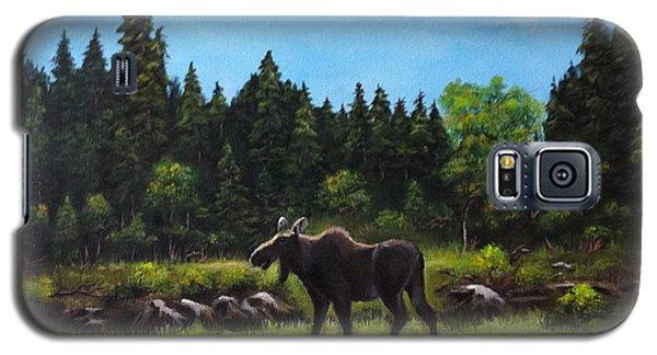 Moose Galaxy S5 Case by Bozena Zajaczkowska