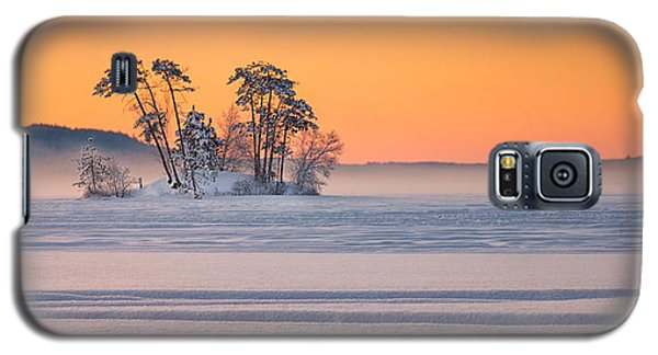 Moose Pond Winter Sunrise Galaxy S5 Case