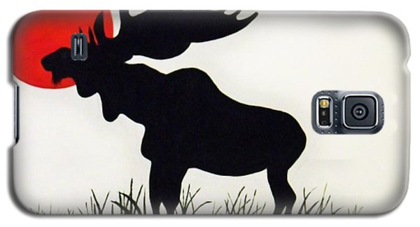 Moose Stands Tall Galaxy S5 Case
