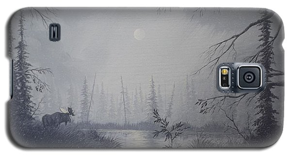 Moose Swanson River Alaska Galaxy S5 Case by Richard Faulkner