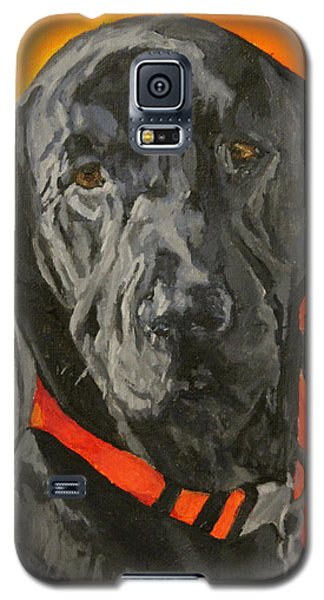 Galaxy S5 Case featuring the painting Moose by Wendy Shoults