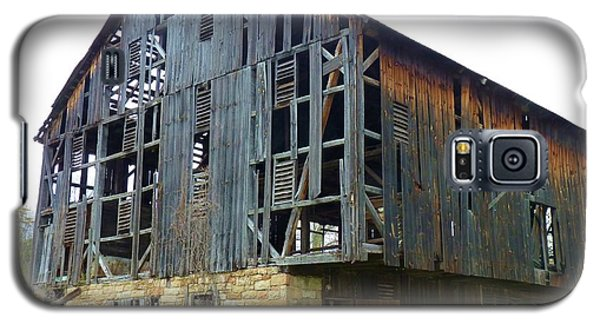 Galaxy S5 Case featuring the photograph More Holes Less Barn by Jeanette Oberholtzer