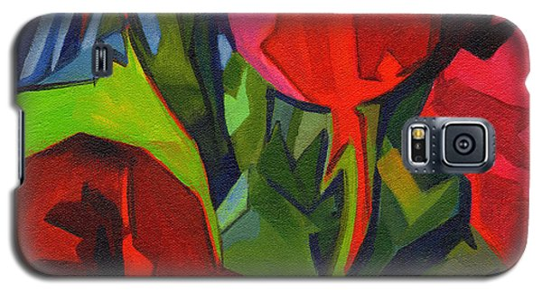 More Red Tulips  Galaxy S5 Case