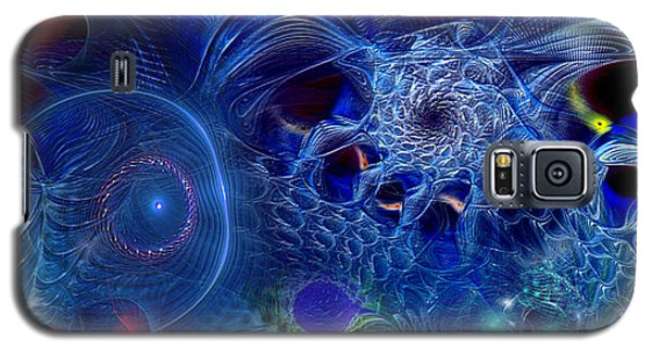 Galaxy S5 Case featuring the digital art More Things In Heaven And Earth by Casey Kotas