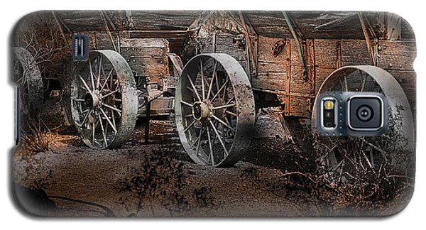 More Wagons East Galaxy S5 Case by Gunter Nezhoda