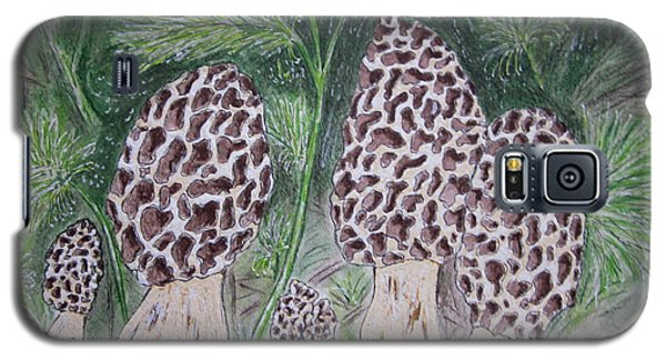 Morel Mushrooms Galaxy S5 Case by Kathy Marrs Chandler