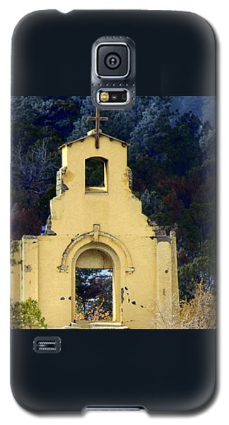 Galaxy S5 Case featuring the photograph Mountain Mission Church by Barbara Chichester