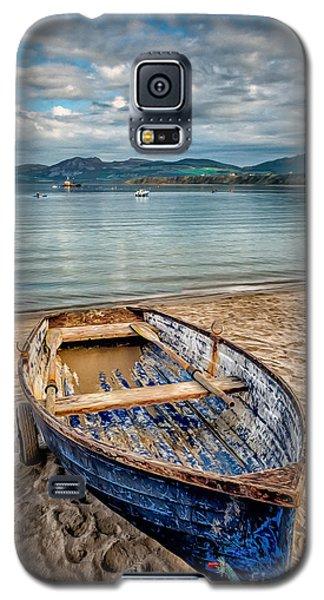 Morfa Nefyn Boat Galaxy S5 Case