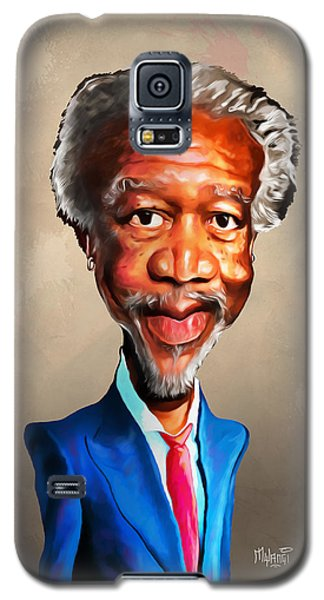 Morgan Freeman Galaxy S5 Case