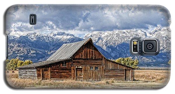 Mormon Barn With Horses Galaxy S5 Case