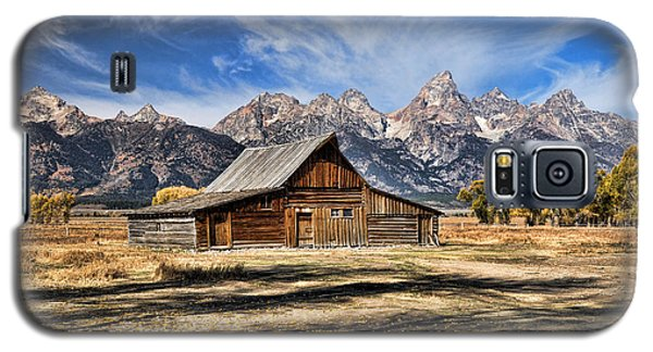Mormon Row Barn Galaxy S5 Case
